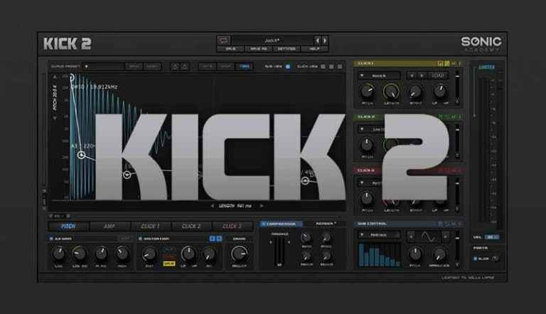 Sonic Academy Kick 2 2 v1.1.4 Crack (Win) Latest Version 2021 Free Download